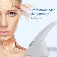 محلل الوجه المهنية 3D الجمال الحيوي الرقمية ماجيك مرآة الجلد الماسح الضوئي 6 طرق الماسح الضوئي الصباغ المسام حساسية حب الشباب تحليل الرطوبة