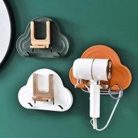 Towel Racks Hair Dryer Hangers Plating Dyer Bracket Nordic Style Wall-Mounted Cute Lovely Shelf