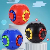 Magia Puzzle Ball Ball Cube Bundle Stress Bola Feijões Esforço e Ansiedade Alívio Anti para todas as idades Criança com caixa gráfica Lla359