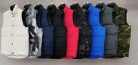 Знаменитые Мужские Жилеты Мужские Женщины Осень Осень Куртка Дунс Пальто Дизайнер Роскошные Повседневная Молния Жилет Канада Стилист Многоцветные Пары Марка Размер одежды XS-XXL