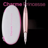 Dermografo Pink Charme Princess Tattoo Machine Semi Permanent Makeup Microblading Digital Pen for Eyebrow Lip Eyeliner 210915