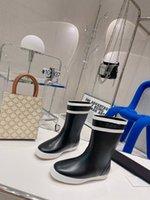 21 Marka kadın Yağmur Botları Kauçuk Yürüyüş Su Geçirmez Ayak Bileği Boot Eğlence Kalın Soled Kısa Patik Yeşil Siyah Mavi Kahverengi
