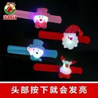 Decoratieve benodigdheden Nieuwe LED-band Light-Emitting Armband Party Supplies