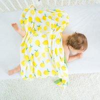 البطانيات Swaddling أربع طبقات 70٪ الخيزران موسلين الطفل بطانية ولادة إكسسوارات الناعمة قماط التفاف الفراش حمام منشفة هجرغ