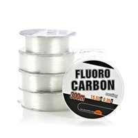 Braid Line 300m Strong Fishing Wire Super Power Fluorocarbon Coated Monofilament Leader CY01