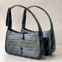 Dicky0750 borse a tracolla Hobo Borse per le donne Chest Pack Lady Tote Cains Alligator Borsa in pelle Borsa a forma di coccodrillo Presbibico Borsa in tela Crocino Crossbody Commercio all'ingrosso