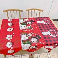 Tavolo di Natale Runner 33 * 180 cm / 13 * 71 pollici in poliestere in cotone tessuto tavoli da pranzo festa di nozze festa di neve all'alto floreale morbido gwf11377