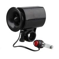 Bike Horns impermeabile bicicletta elettronica bicicletta ultra-rumoroso Bell 6 suoni altoparlante per allarme corno