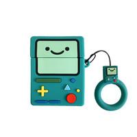 3D милый мультфильм игровые приставки для абоировок 1 2 PRO Защитная крышка для наушников для Apple Bluetooth Наушники для наушников Полное тело Case Silicon