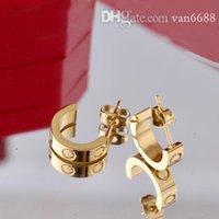 Femme Cleef Stud Boucles d'oreilles Carti Rings Designer Pendentif Colliers Vis Bracelet Van Loves Mode avec Box 300