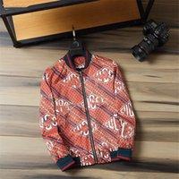 2021 marca padrão de moda impressão homens jaqueta de manga comprida jaquetas zíper magro ajuste de alta qualidade windbreaker homens antumn inverno outdoorwear casacos finos M-3XL