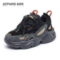 Cctwins crianças sapatilhas meninas moda inverno casual corrida esportes sapatos meninos grossos sola sneakers crianças calçados sapatos fs3929 210308