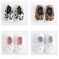 First Walkers Toddlers Socks Shoes With Comfortable Bottom Baby Girls Boys Knit Booties Slippers Floor Walker For Borns Kids Sneakers
