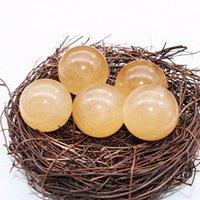 Cristal Natural Cristal Amarelo Calcite Home Home Escritório Aquário Decoração Feng Shui Energia Riqueza Dribando Presente