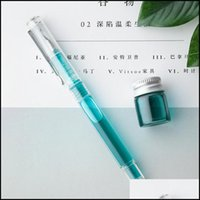 Pens Writing Supplies Office Business & Industrialart Transparent Clean Fountain Pen Art Creation Painting Font Design Scrapbook Student Sch
