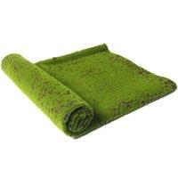 2021 10 квадратных метров Искусственный зеленый Мосс Травяной коврик растений Искусственные газоны газовые ковры для сада Домашняя вечеринка Украшения