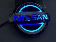 2021 5D Araba Logosu Rozeti LED Işık Nissan (Ücretsiz Kargo)