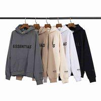 Fear of god fog essentials high quality Mens and womens hoodies Leisure fashion trends men women designer mens tracksuit new B13g#