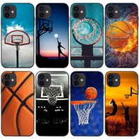 Mobile Cell Phone Cases For Iphone 13 13mini 13pro 13promax 12promax 12 12pro 12mini 11promax 11pro 11 Xsmax Xr X xs 7 8 6 Campus Basketball Court Cellphone Case