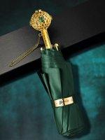 Umbrellas Creativity Folding High Quality Umbrella Elegant Luxury Uv Protecting For Women Paraguas Rain Equipment LL50UM