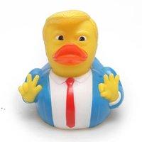 Bébé baignade jouets douche amusant canard canard enfant bain jaune canard enfants baigné flottant jaune canard décorations de fête de fête owe8827