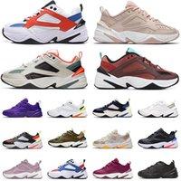 أحذية الاحذية عالية الجودة m2k tekno المرأة أبي حذاء البيج الأسود كل الأبيض كامو المدربين الرجال مصمم الحجم 36-45