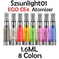 Atomizzatore Ego CE4 1.6ML Cartomizzatore elettronico Cartomizer Mix Colors Match R 510 Batteria VS + CE5 CE6