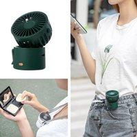 USB recargable manos libres cuello de mano portátil portátil al aire libre aire de aire eléctrico ventilador verano mini portátil radiador de enfriamiento