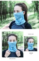 Hats, Scarves & Gloves Sets Mask Outdoor Scarf Men Women Sun Protection Bandana Neck Gaiters Riding Camping Activities Multi Function Bandan