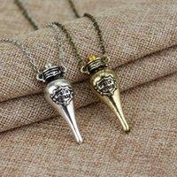 Spedizione gratuita Jewelry Jewelry Harry Felix Felicis Magic Potion Bottle Pendant Collana Collana Fortunato Pozione Collana WA1694