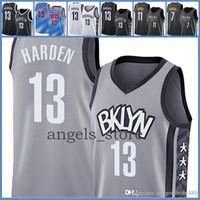 2021 New Basketball Jersey BrooklynNETS.James James 13 Harden Kevin Herren 7 Durant Kyrie 72 Biggie Irving Purpur 65 Orange