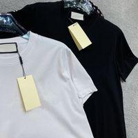 نوعية جيدة الكلاسيكية في قسم التعليقات عالية الجودة الرجال القمصان نمط القمصان القميص الرجال والنساء أسود بأكمام قصيرة تي شيرت