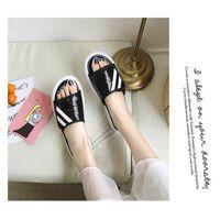 Venta caliente-Sandalias y zapatillas Ropa de verano femenina 2019 Nuevo Nuevo Salvaje Salvaje Dark Gris Lentejuelas Zapatillas Mujeres Estudiantes Casual Playa Zapatos