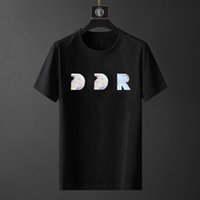 21SS Christian Fashion Men Casual Tshirsts Mens Designer Camicia Man Paris Francia Street Shorts Manica Abbigliamento Abbigliamento T-shirt Asian Size S-2XL