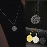 yutong Men Ожерелье, Печать семи Ожерелья Архангелса, нержавеющая сталь 7 Сигил, Соломон Каббала Амулетные подвески