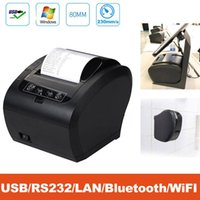 Printers Printer, Receipt Printer 80MM USB Network Thermal With Auto Cutter Ethernet LAN Port Support Cash Drawer ESC