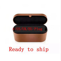Chaud Sell 8 têtes Bouchoir à cheveux multi-fonction Sèche-cheveux Boîte de cadeau de fer de curling automatique pour cheveux bruts et normaux