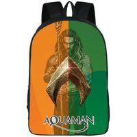 Rucksack Aquaman Ocean King Daypack Arthur Curry Schultasche Film Rucksack Satchel Schultasche Outdoor Day Pack