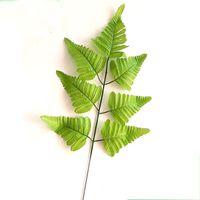 인공 열대 야자가 가짜 식물 가짜 가짜 가짜 큰 팜 트리 잎 녹색 녹지 꽃 배열 웨딩 홈 파티 장식 232 v2