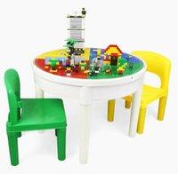 300pcs Bâtiment Blocs Kindergarten Multifonctionnelle Desk Bureau Novelty Diy Creative Assemblez de jouets pour bébé Education précoce 02