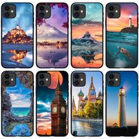 Tower City Scenery I-phone 13 Mini Pro Max Phone Cases For Iphone 13mini 13pro 13promax 12promax 12 12mini 11promax 11 Xs 7 8 6 Shell Cover Mobile Cell Case