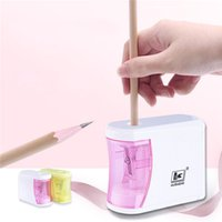 Automatic Electric Pencil Sharpeners Safe Fast Prevent Accidental Opening Stationery School Supplies Students Artists Classrooms Office