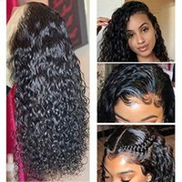 150%density 360 Lace Frontal Wigs Human Hair pre plucked Brazilian Water Wave Wet and Wavy Virgin remy full natural Wig hd swiss front for black women