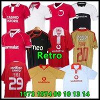 04 05 05 05 09 10 13 14 Benfica Retro Soccer Jersey 1961 2010 2013 Nuno Gomes ماتيتش سيماو دي ماريا رودريغو أيمار كاردوزو ديفيد لويز ميغيل الكلاسيكية خمر لكرة القدم قمصان