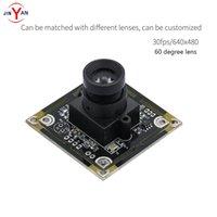 WEBCAMS LENTILLE SANSORTIONNIQUE LENTILLE USB2.0 HD Caméra Module ov7725 0.3mp 640 * 480 Support Linux Android