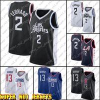 Kawhi 2 Basketball Leonard Jersey Paul 13 George Jerseys LosAngelesTondeuseJersey CZVB8A89DFB XCN98A