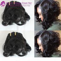 Frühling curl doppelt gezeichnete tante funmi haar spitzen curl pro haar curl menschliche haare weben heiße schönheit für britische kunde