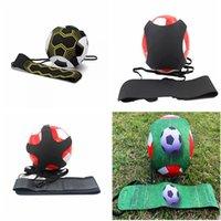 Futebol bola bola kick solo treinador malabarable sacos prática equipamentos de treinamento crianças auxiliares circulando cinto de cintura treinador