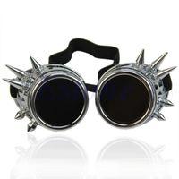 Vintage Victorian Gothic Cosplay Steampunk Goggles Gläser Schweißen Punk Q1FA