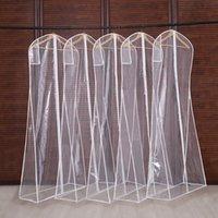 3 Boyutları Giyim Temizle Takım Elbise Çanta Kapakları Ev Asma-Tipi Ceket Takım Moth Geçerli Konfeksiyon Çanta Nefes Fermuar Toz Kapak CPA2940